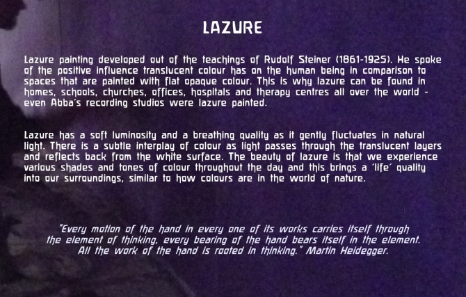 about lazure painting